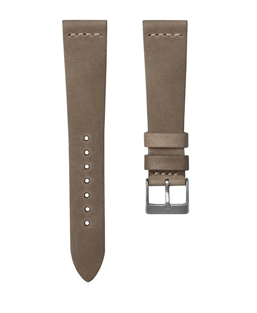 Soft Top Grain Hand Made in Spain 20mm premium genuine leather watch strap by Geckota
