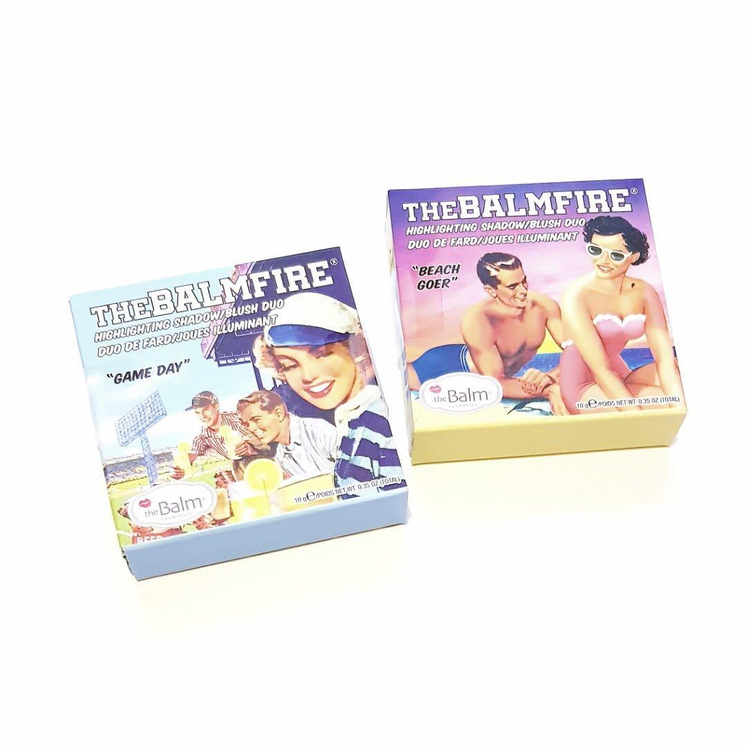 "The Balm Cosmetics BalmFire ""Beach Goer"" Highlighting Shadow/Blush Duo Shades"