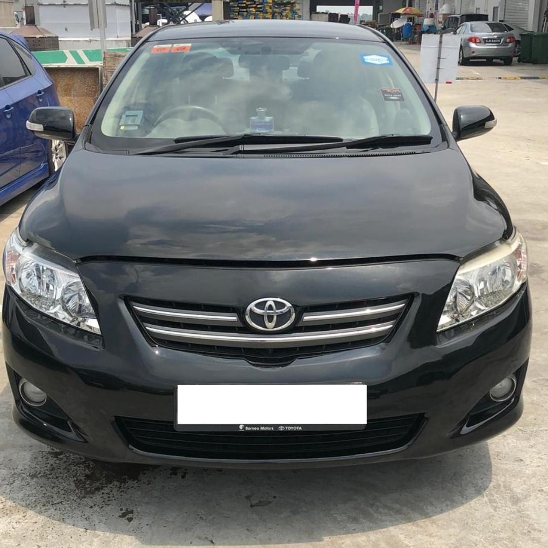 Toyota Altis for Rent (PDVL/Grab/GoJek/Personal)