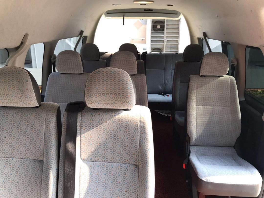 Toyota combi 13 seater for lease. Well maintain good running vehicle. Cheap.