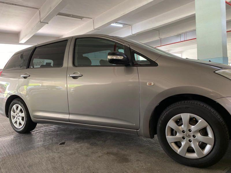 $5/hr Grab Relief Needed @ Bukit Panjang/CCK. Flexible Rental. Toyota Wish 1.8A. Whatsapp 88567422