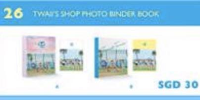 WTB TWICE PHOTO BINDER PM ME IF U HAVE ANY OF THESE 3 (BRAND NEW)