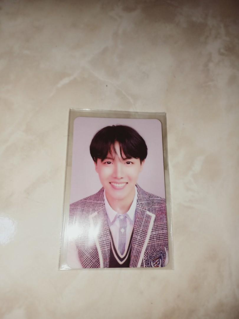[WTT/WTS] BTS Love Yourself: Answer L version J-Hope Official Photocard/Change to Jimin photocard