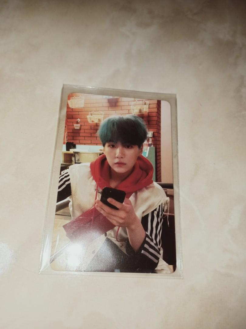 [WTT/WTS] BTS Love Yourself: Her E version Suga Official Photocard/Change to Jimin photocard