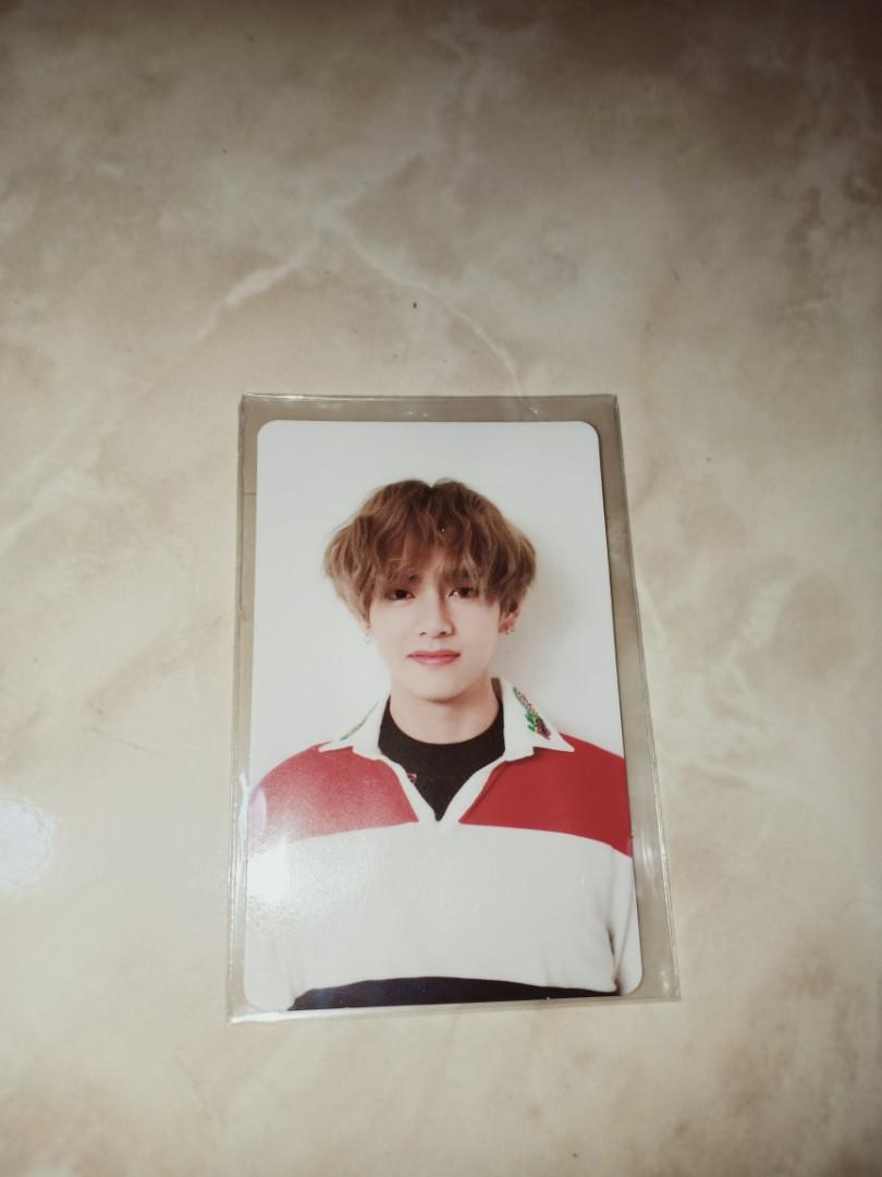 [WTT/WTS] BTS Love Yourself: Her V version Taehyung Photocard/Change to Jimin photocard
