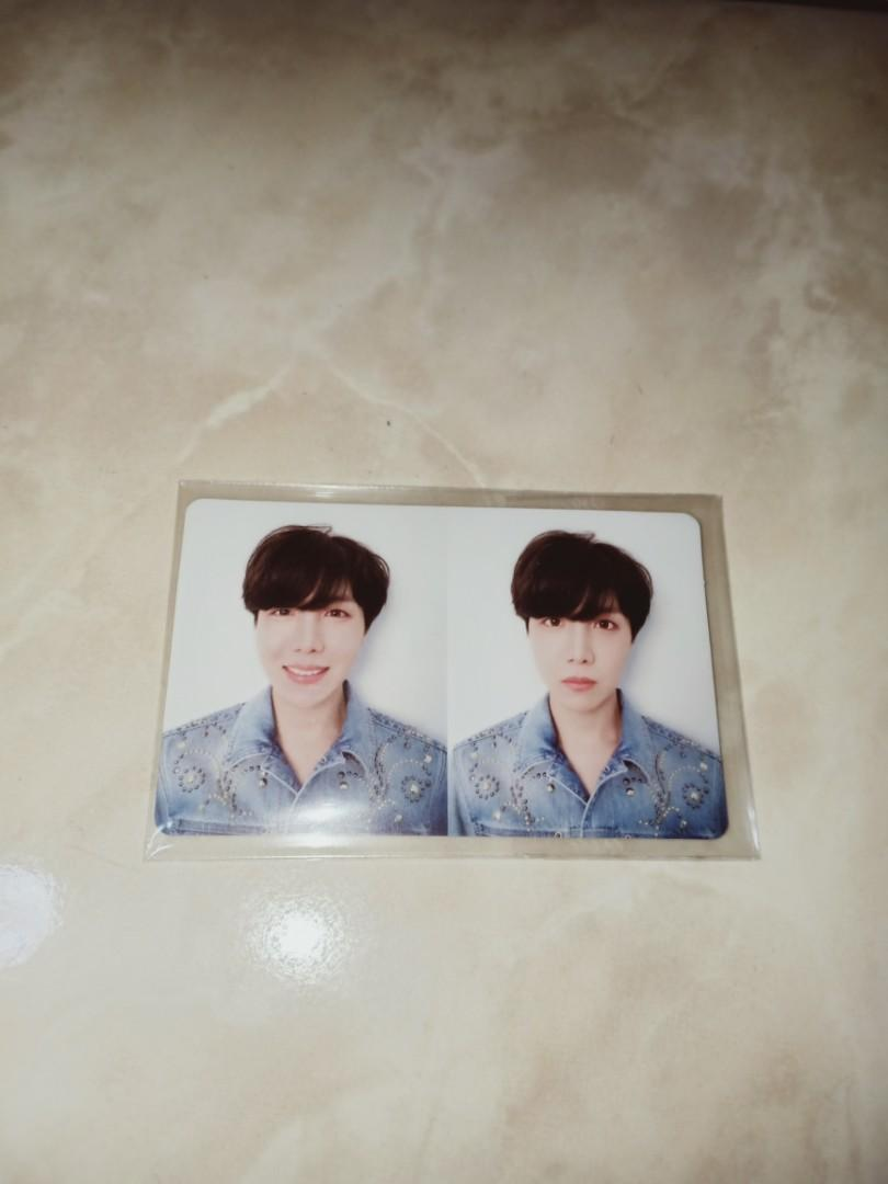 [WTT/WTS] BTS Love Yourself: Tear R version J-Hope Official Photocard/Change to Jimin photocard
