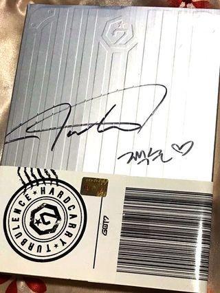 Got7 Turbulence Signed Album