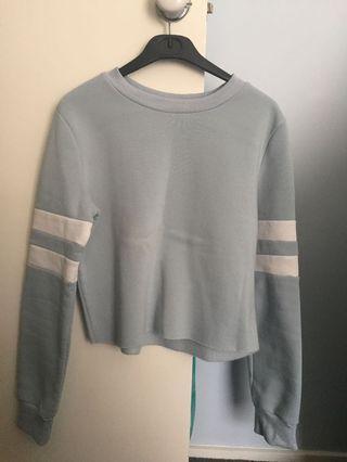 Cropped Mirrou hoodie