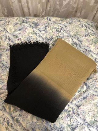 Aritzia Gradient Blanket Scarf