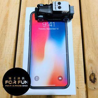 🌈(二手)Apple iPhone X 256GB 黑色,外觀9成新,有實體店面提供無卡分期,讓您0元就帶走!