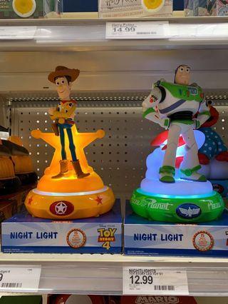 玩具總動員小夜燈