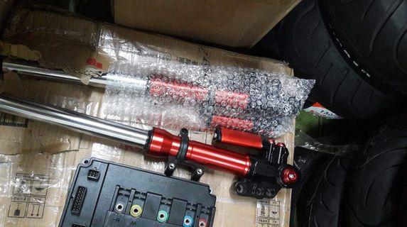 Front Shock  30mm