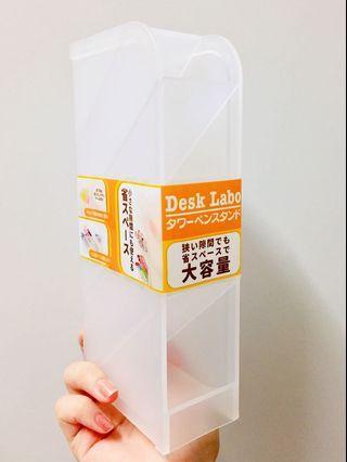 日本製半透明四格收納盒1個