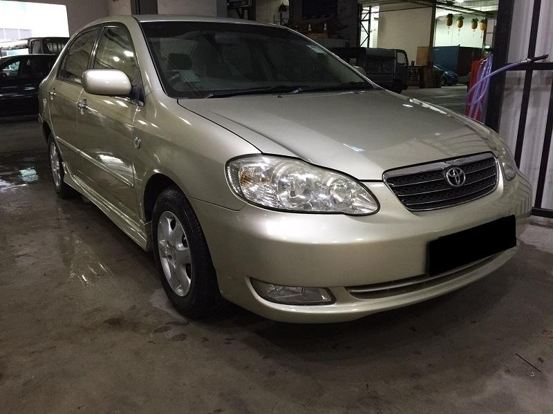 29/11/2019-02/12/2019 FRI-MON TOYOTA ALTIS 2ND GENERATION $195 (P PLATE WELCOME)