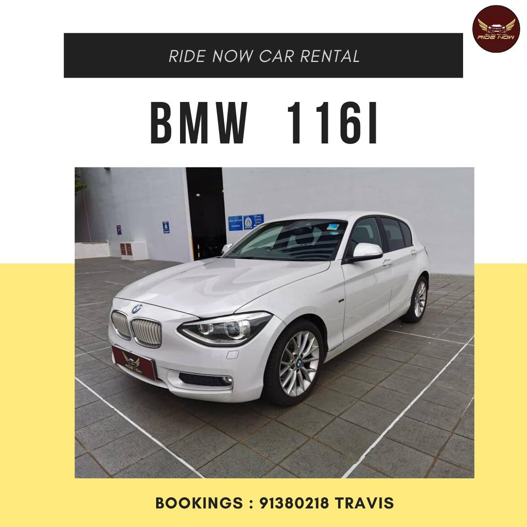 BMW116i Urban Sporty Hatchback suitable for all uses! Turbocharged!