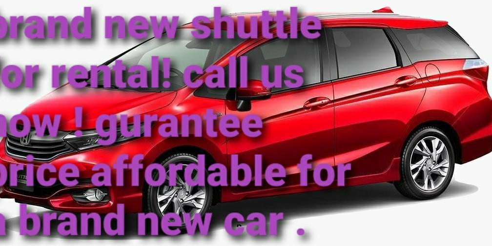 Brand new fit / shuttle for rental