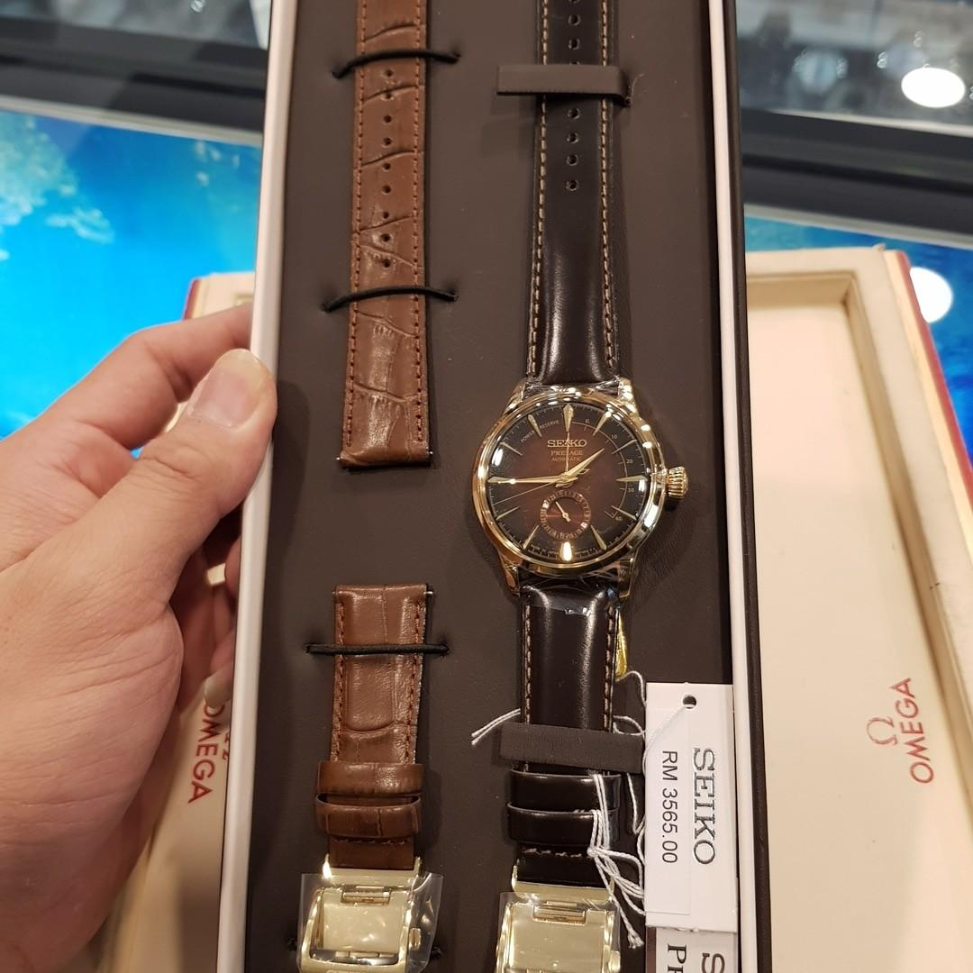 Brand New Seiko Presage Cocktail Automatic With Power Reserve Indicator Limited Edition 8000pieces