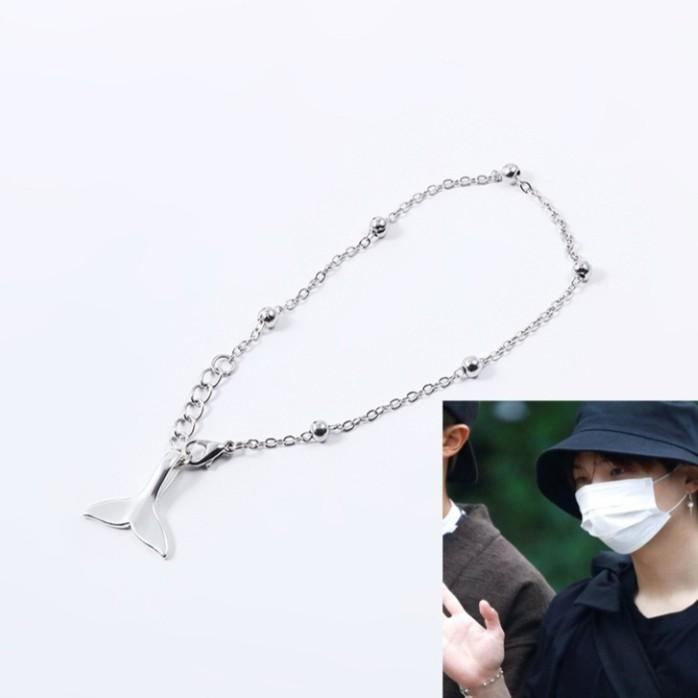 BTS Suga Yoongi Dolphin Tail Bracelet *UNOFFICIAL*