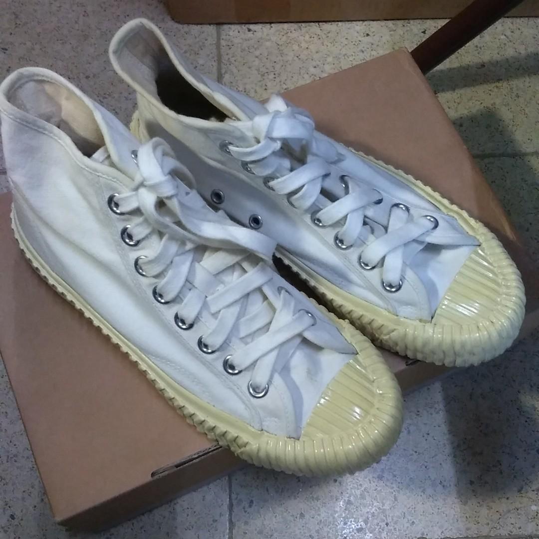 Excelsior 24 全白高筒餅乾鞋 帆布鞋 all white #換物 #出清2019