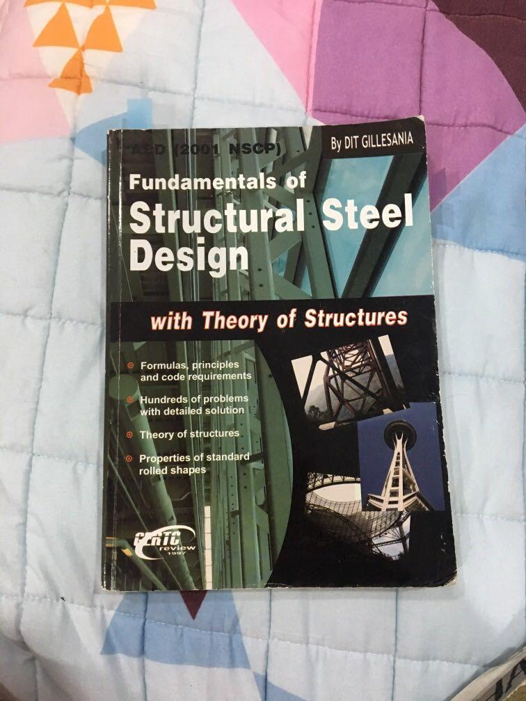 Fundamentals of structural steel design with theory of structures gillesania gertc