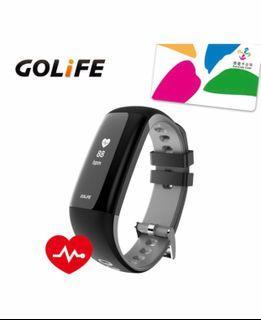 #降價【GOLiFE】Care-Xe 智慧悠遊觸控心率手環