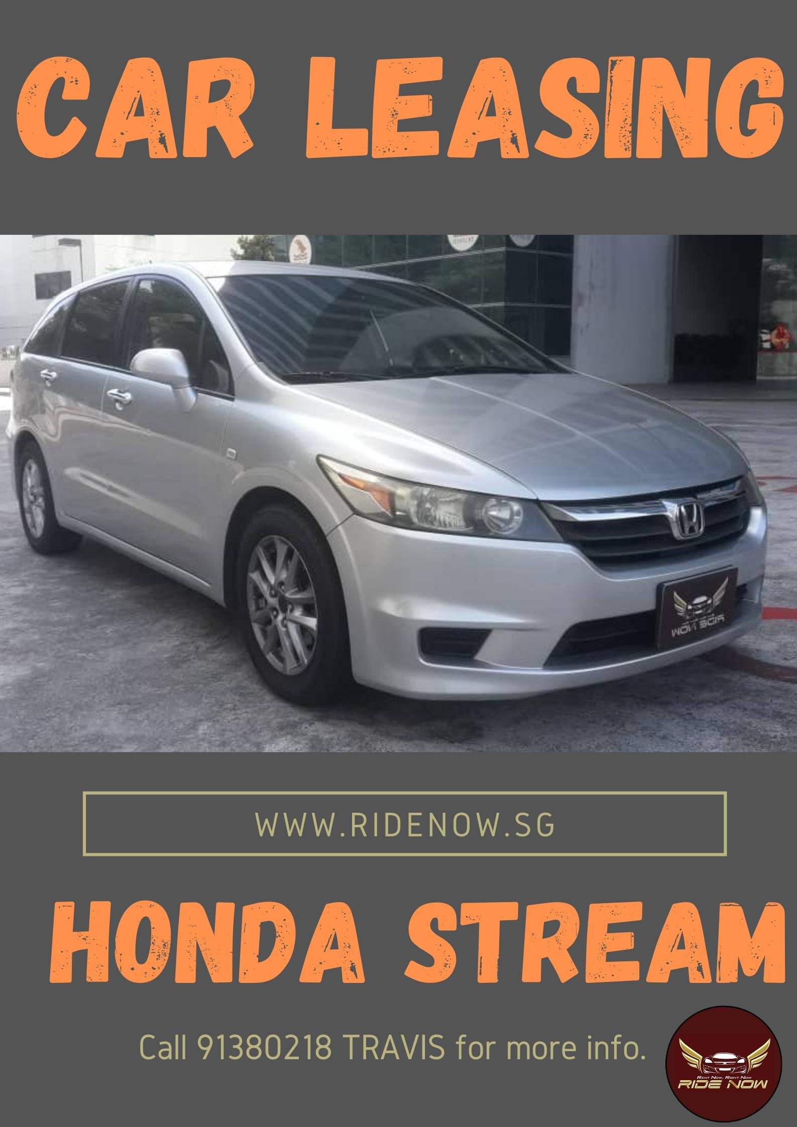 Honda Stream 1.8A Reliable MPV suitable for Malaysia Usage and Long Road Trips!