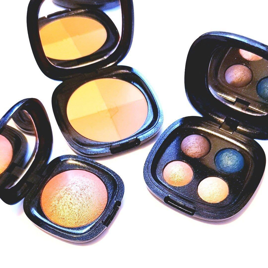 Kiko Milano Dark Treasure Bronze Spectrum Cosmetics Compact Baked Highlighter