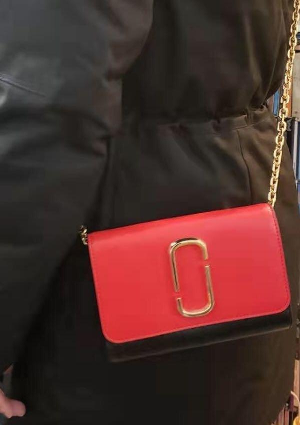 Marc Jacobs wallet on chain crossbody brand new Christmas gift idea