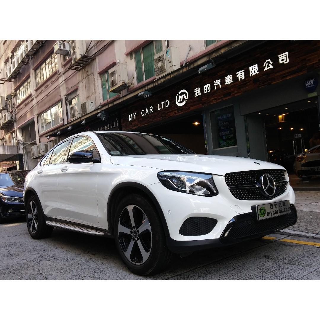 MERCEDES-BENZ GLC250 COUPE 2018