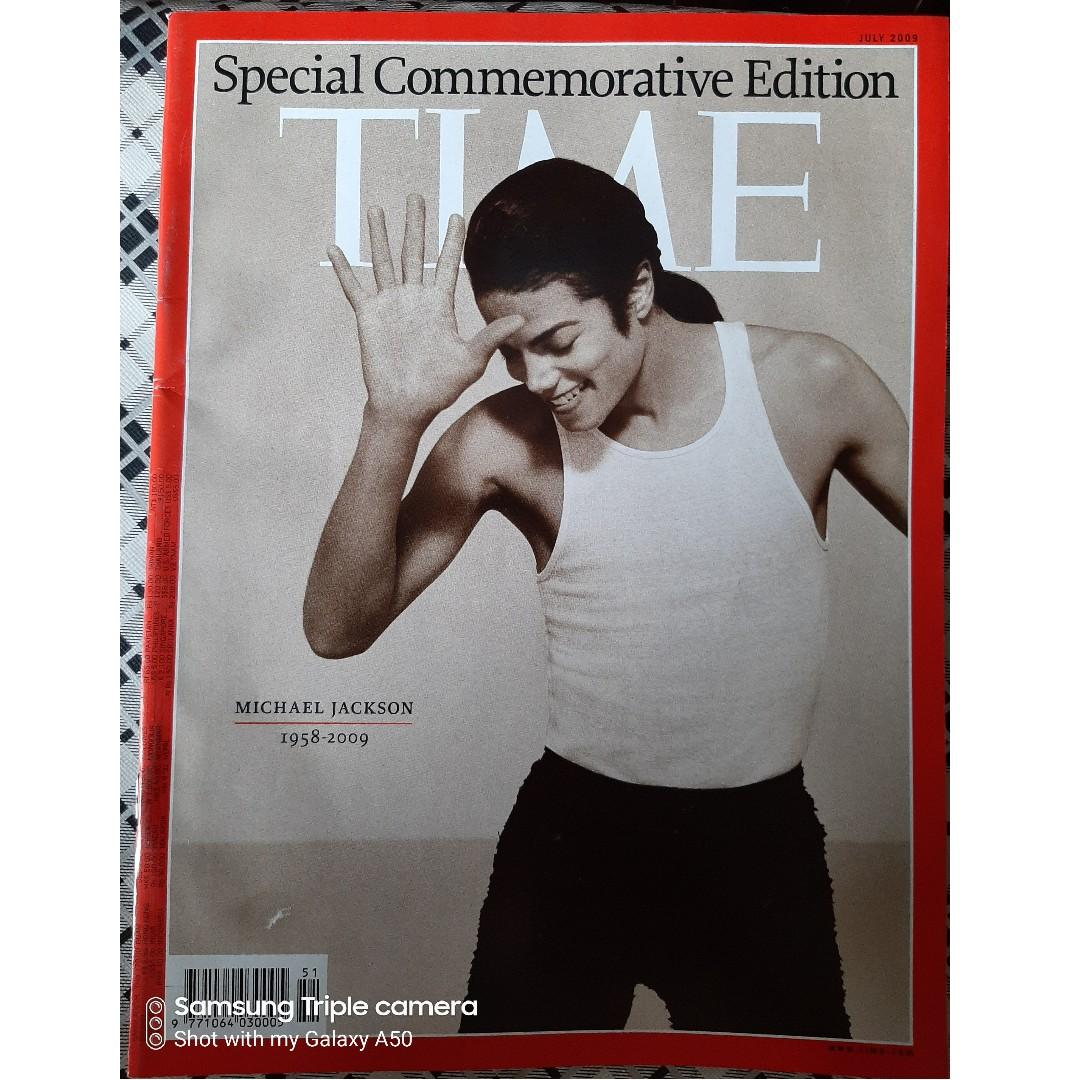 Michael Jackson - Time Magazine Special Edition Commemorative Issue