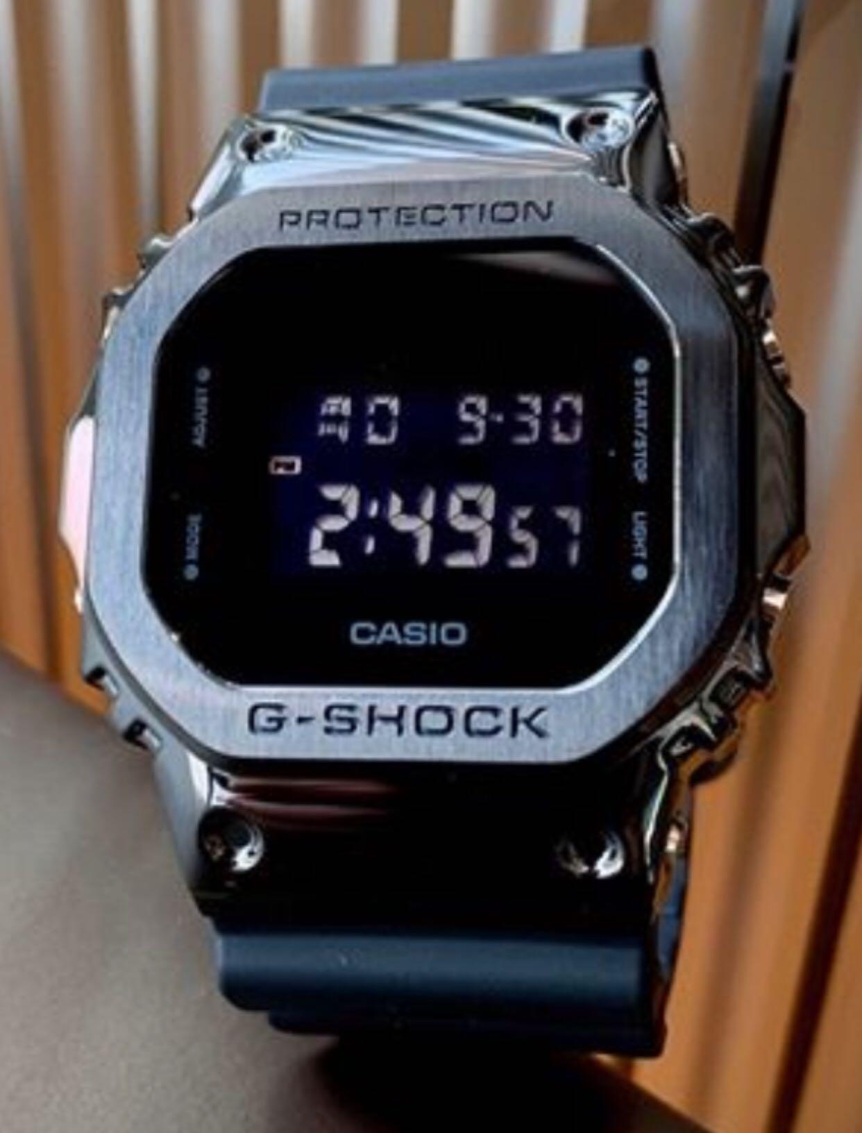 NEW🌟EDITION : GSHOCK UNISEX DIVER SPORTS WATCH : 100% ORIGINAL AUTHENTIC CASIO G-SHOCK : GM-5000B-1DR / GM-5000B-1 / GM5000B-1 / DW-5600-1