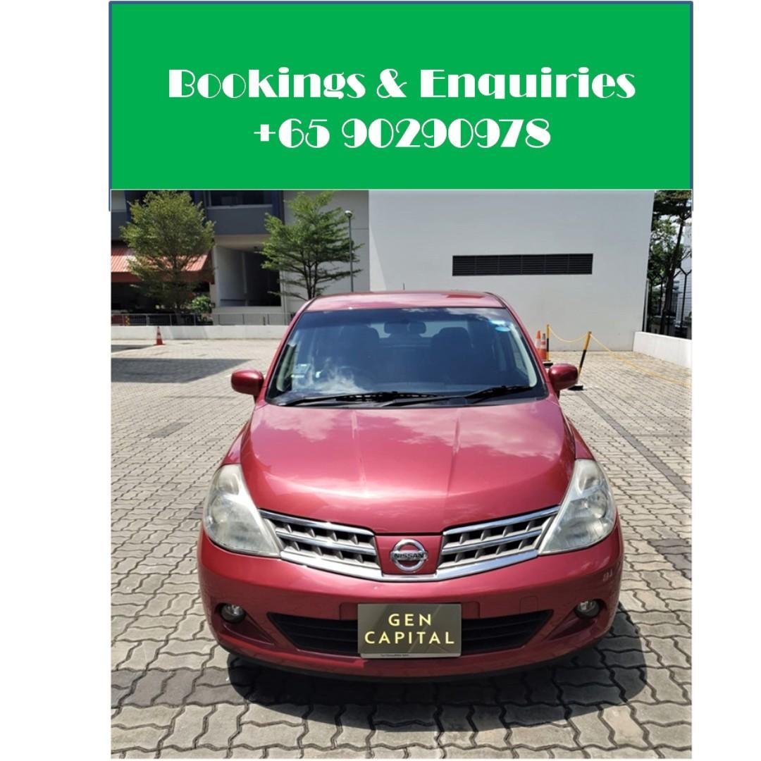 Nissan Latio 1.5A - Deposit Driveaway! Immediately! Whatsapp 90290978!