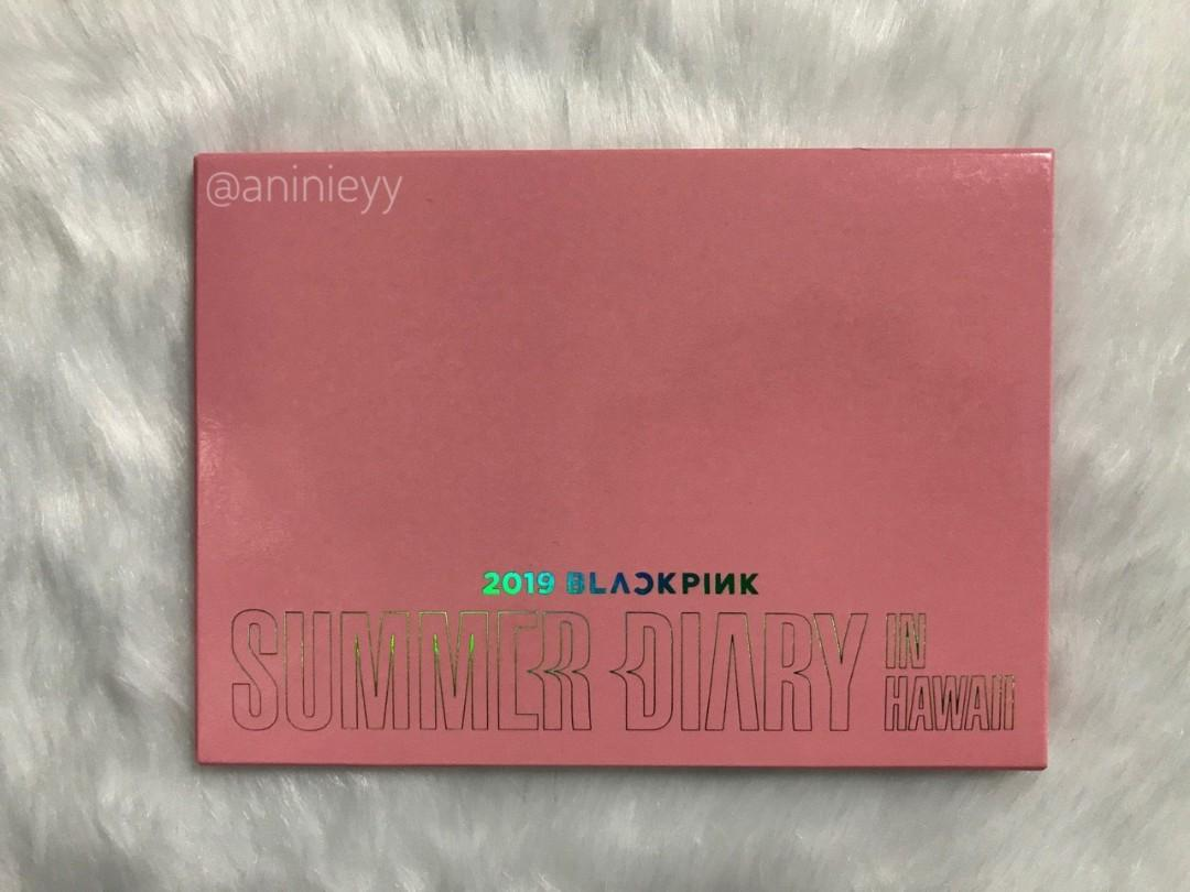 (WTS) OFFICIAL POSTCARD SET BLACKPINK SUMMER DIARY IN HAWAII