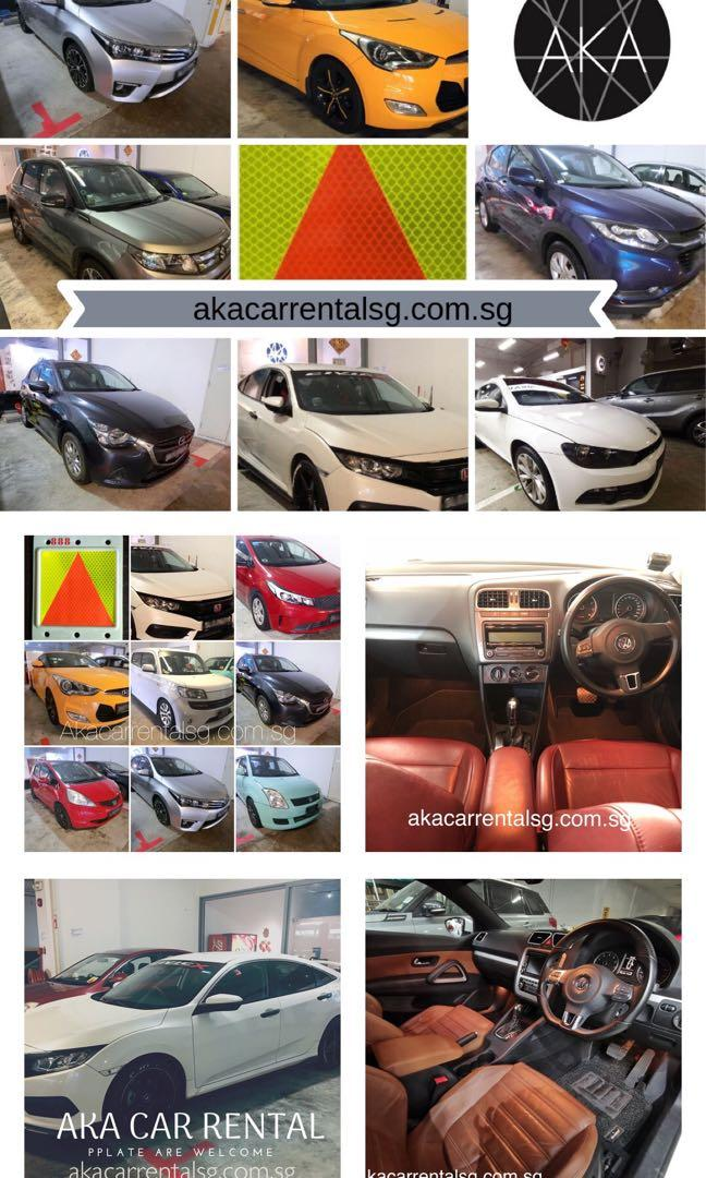 Pplate car rental in Singapore. Mon- fri package!