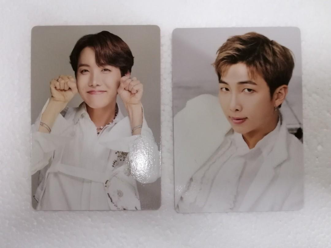 [Ready Stock] BTS Speak yourself final mini photocard