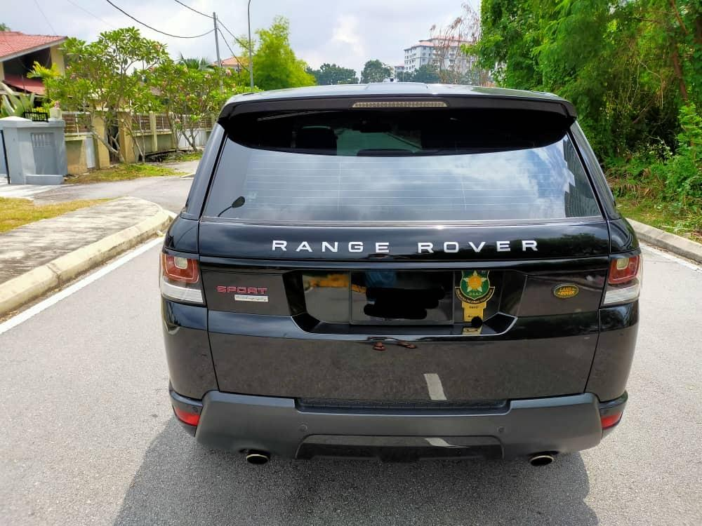 SEWA BELI>>RANGER ROVER 5.0iS V8 SPORT SUPERCHARGED 2015