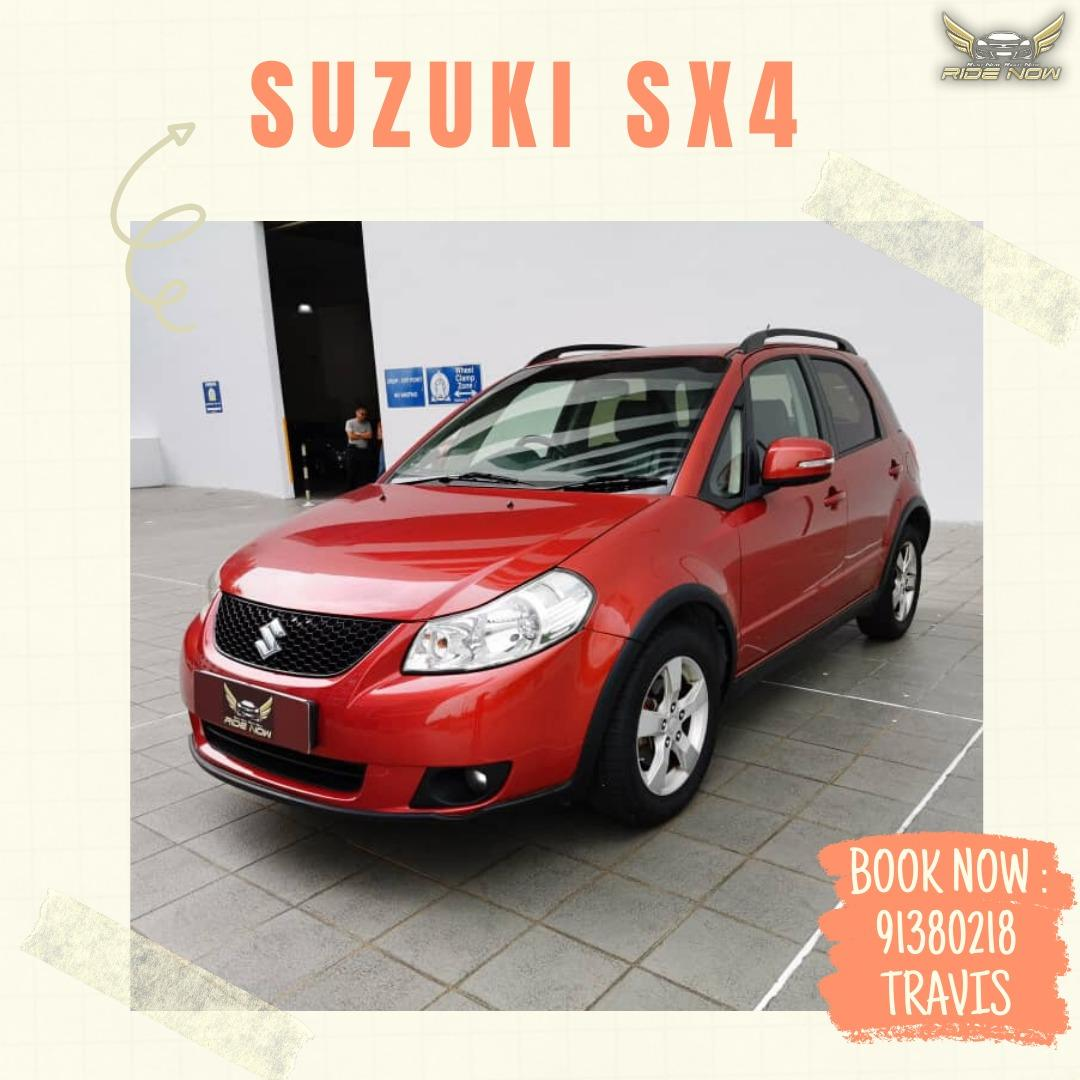 Suzuki SX4 1.6A Perfect Hatchback for Family Usage! Good for Daily Drive.