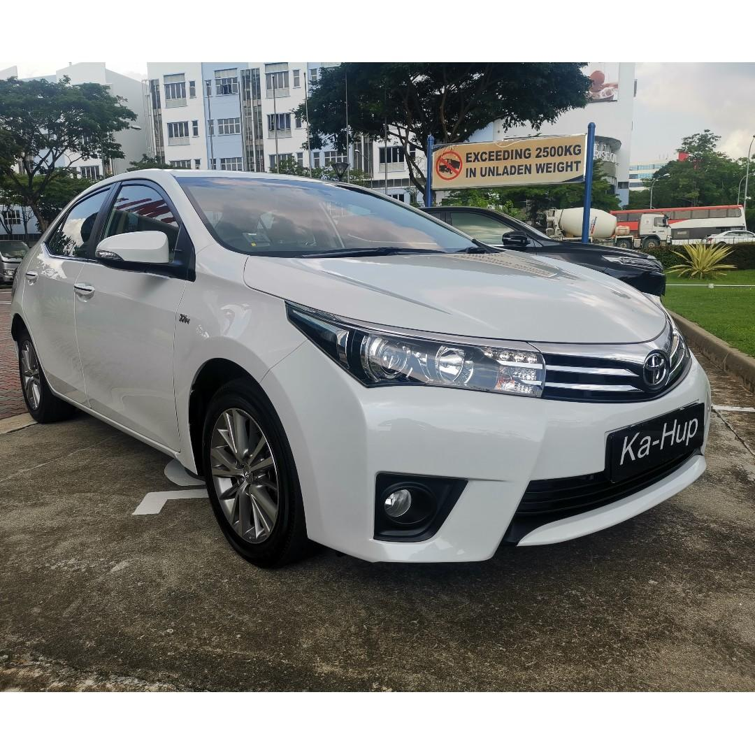 Toyota Corolla Altis 1.6 Elegance Auto