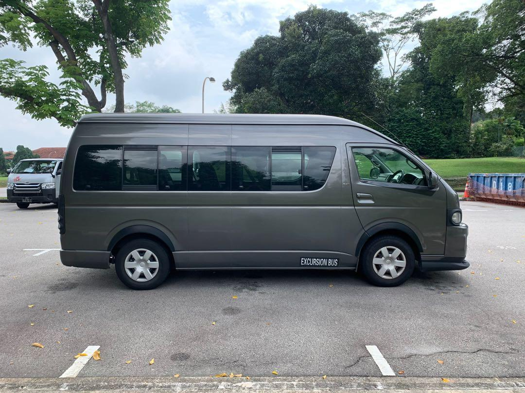 Toyota Hiace Hiroof Commuter 3.0A for Rent/Lease