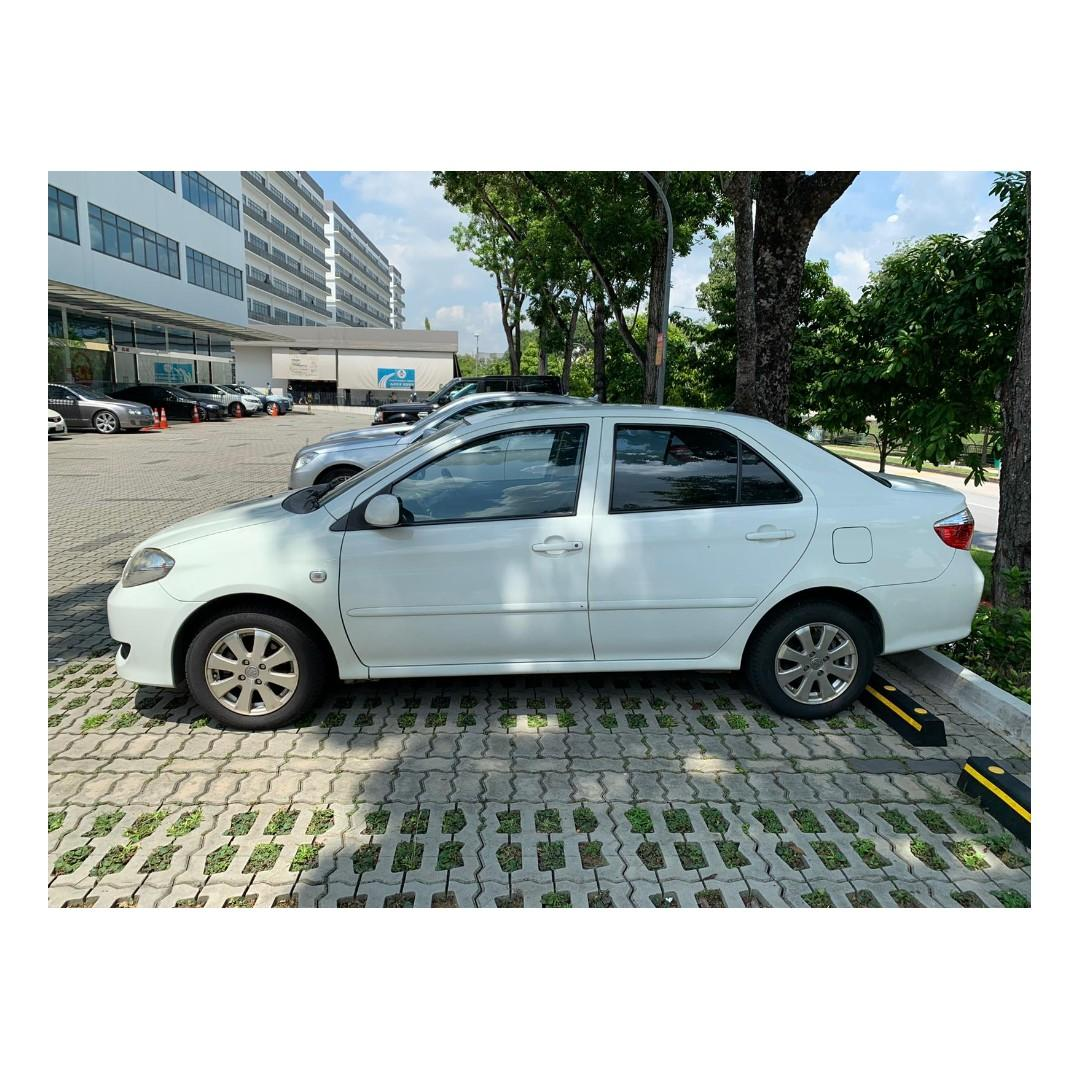 Toyota Vios - Cheap rental rates WITH FULL SUPPORT @ 97396107