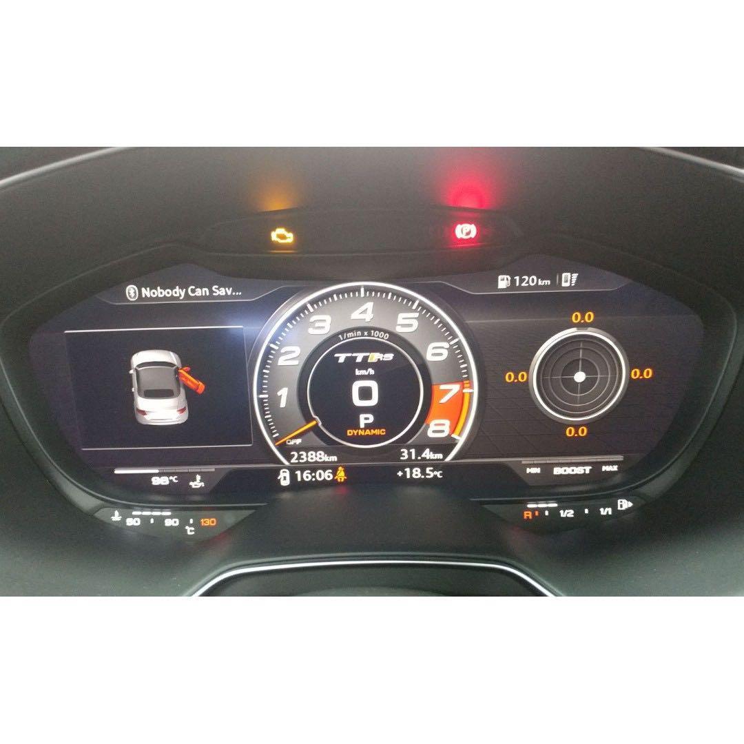 TT RS Roadster Quattro