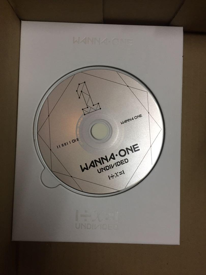 (WTS QUICKLY) WANNA ONE UNDIVIDED ( Wanna One Version)