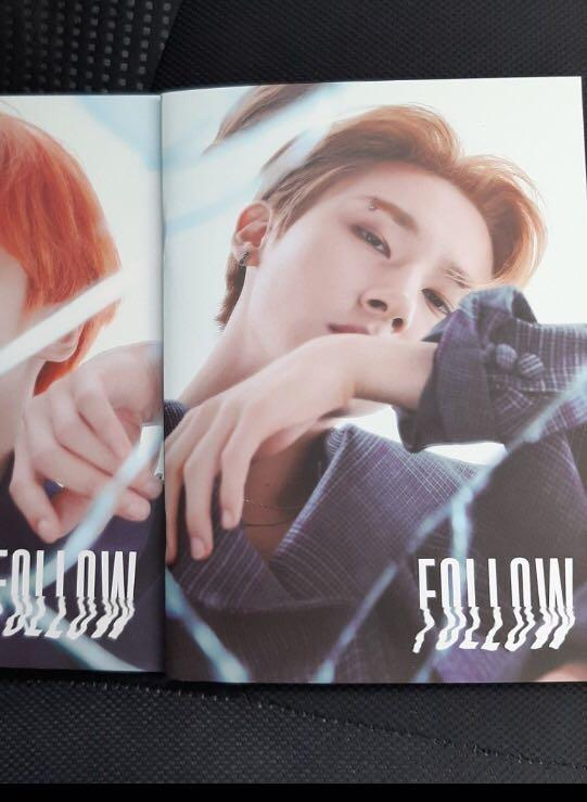 [WTB/WTT] MONSTA X FOLLOW FIND YOU I.M CHANGKYUN LYRIC BOOK