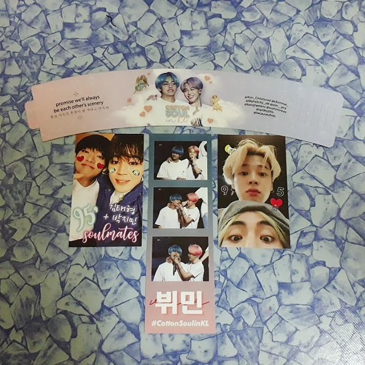 [WTS] BTS Jimin and Taehyung #CottonSoulinKL cs event