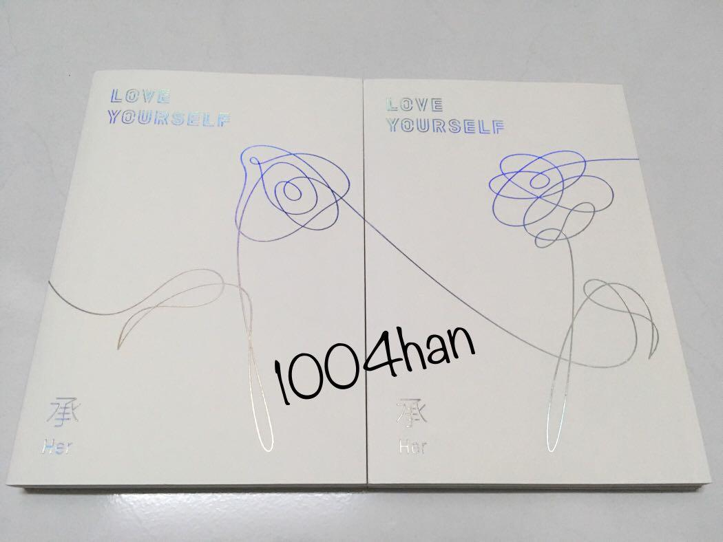 [WTS] BTS LOVE YOURSELF: HER Unsealed album (L and O version)
