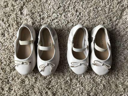 American Eagle Lolla White Toddler Shoes