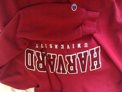 Champion Harvard sweater