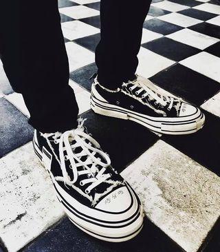 Xvessel G.O.P Lows Black 吳建豪解構鞋