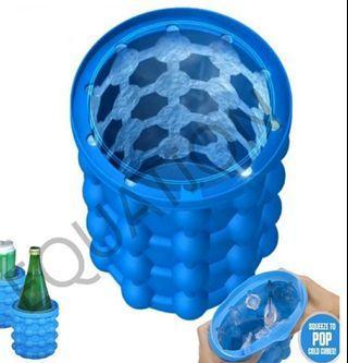 大號-#極夏魔術冰桶#矽膠冰桶#ice genie saving ice#製冰神器(全新)