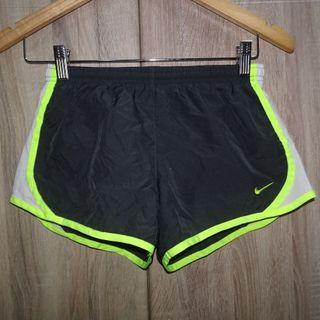 (10-12 kids) Nike Dri-Fit girls sport shorts, with waist secure lace and key pocket, build-in brief, super nice in actual and almost looks new